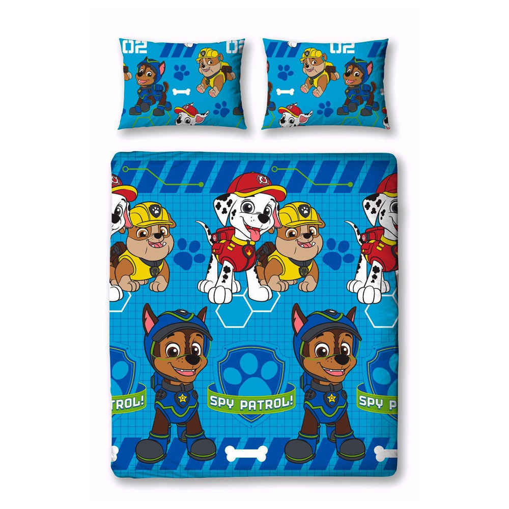 Paw Patrol Bettwäsche Doppelbett 200 X 200 Cm Pawpatrol Spielzeug