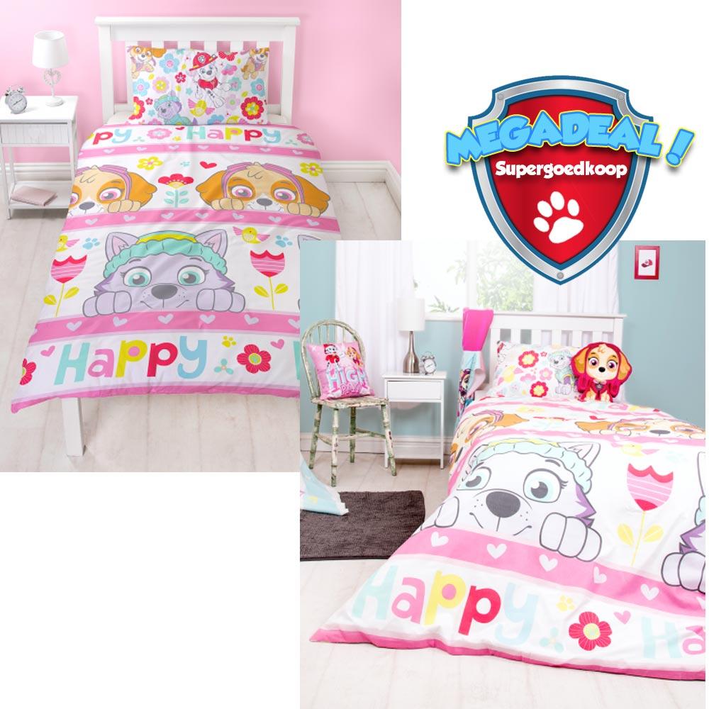 paw patrol bettw sche happy pawpatrol spielzeug. Black Bedroom Furniture Sets. Home Design Ideas