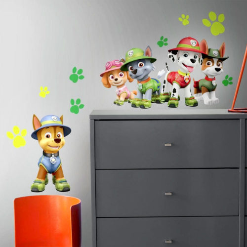 paw-patrol-jungle wandaufkleber